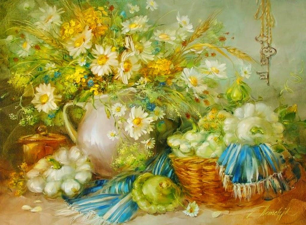 flores-en-pinturas-artisticas-al-oleo