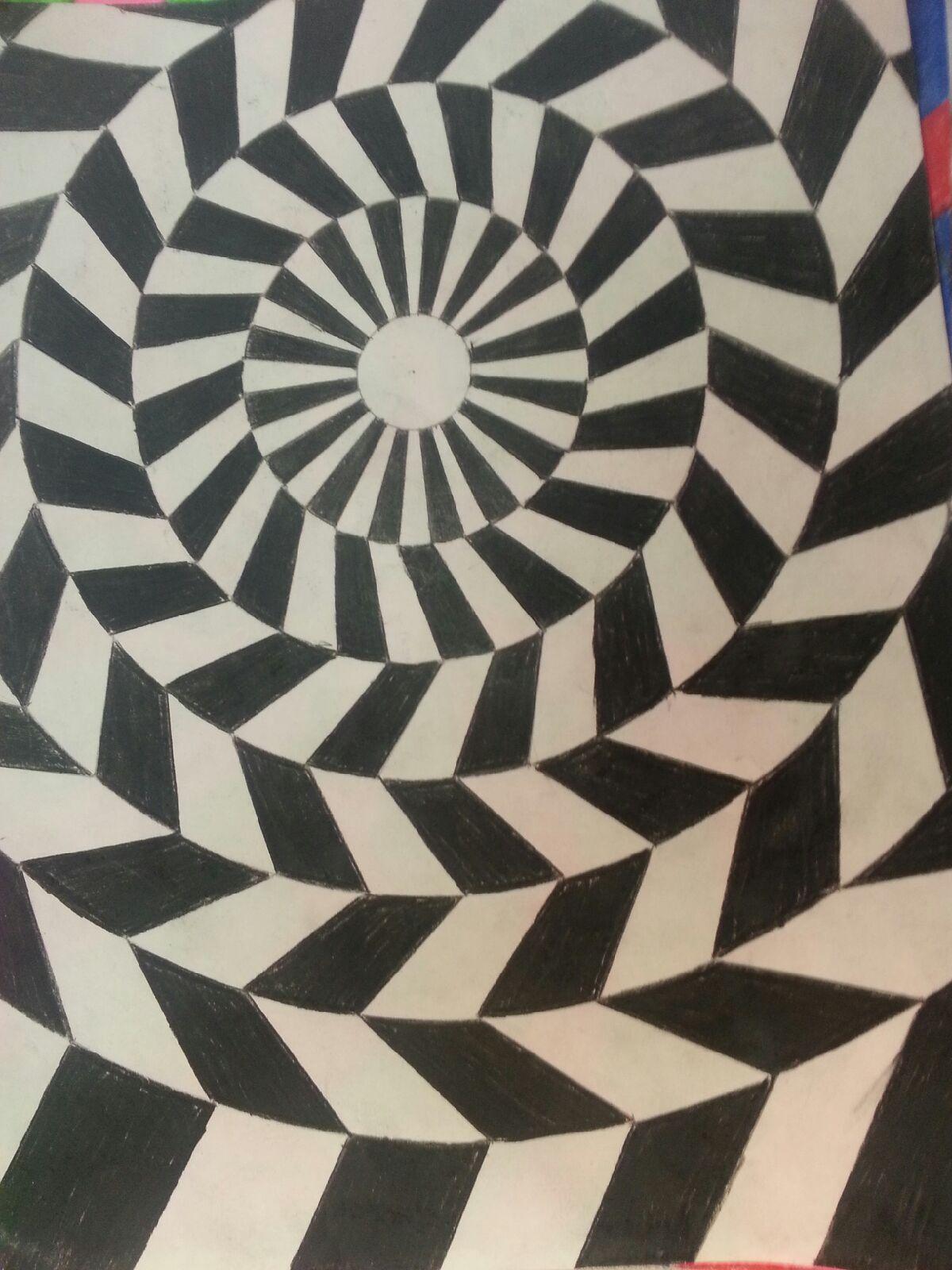 Movement Element Of Design : Mrs higa s art class optical illusions