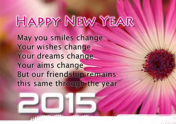 Best Poetry Of Happy New Year 2015