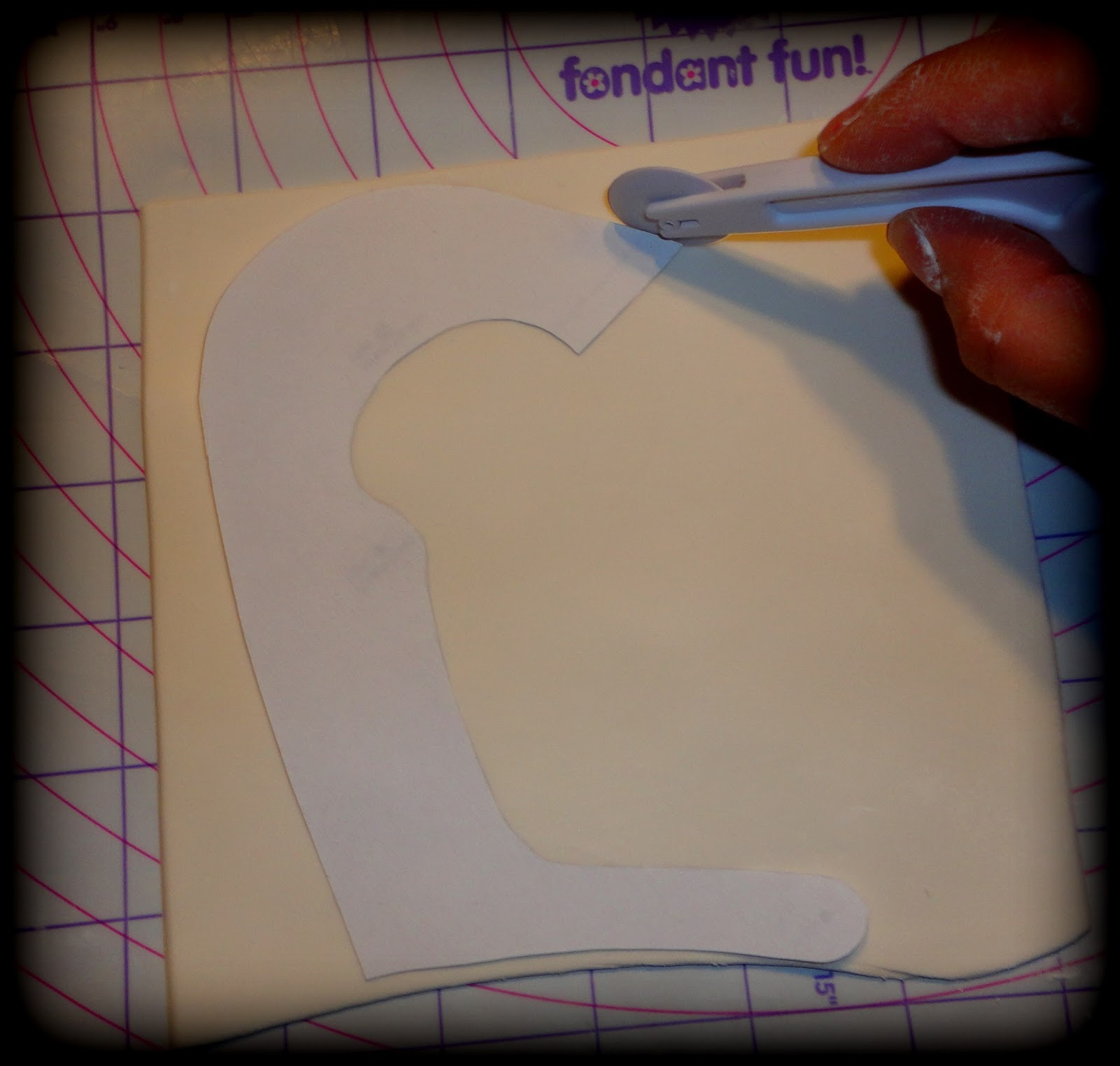 Baby Girl Shoe Template For Fondant
