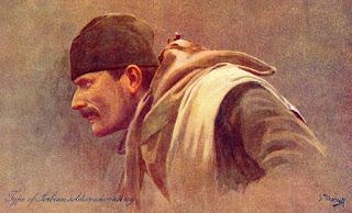 српски извиђач Драгутин Матић, 1912