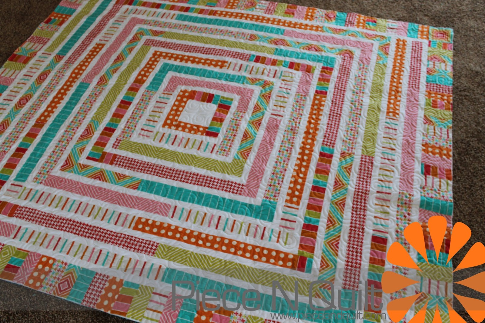 Jelly+Roll+1600+Quilt+Tutorial Piece N Quilt: Jelly Roll Quilt: http://www.pic2fly.com/Jelly+Roll+1600+Quilt+Tutorial.html