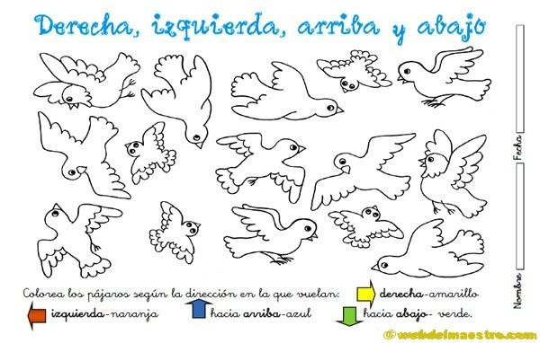 RECURSOS TIC PARA NIÑOS DE INFANTIL: Fichas para imprimir y colorear