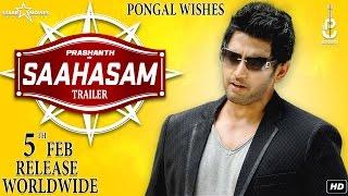 Saahasam – Official Trailer _ Prashanth _ Thaman SS _ Arun Raj Varma