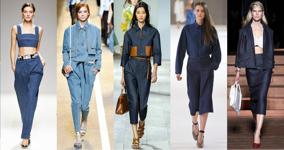 Denim 2015 trend total look
