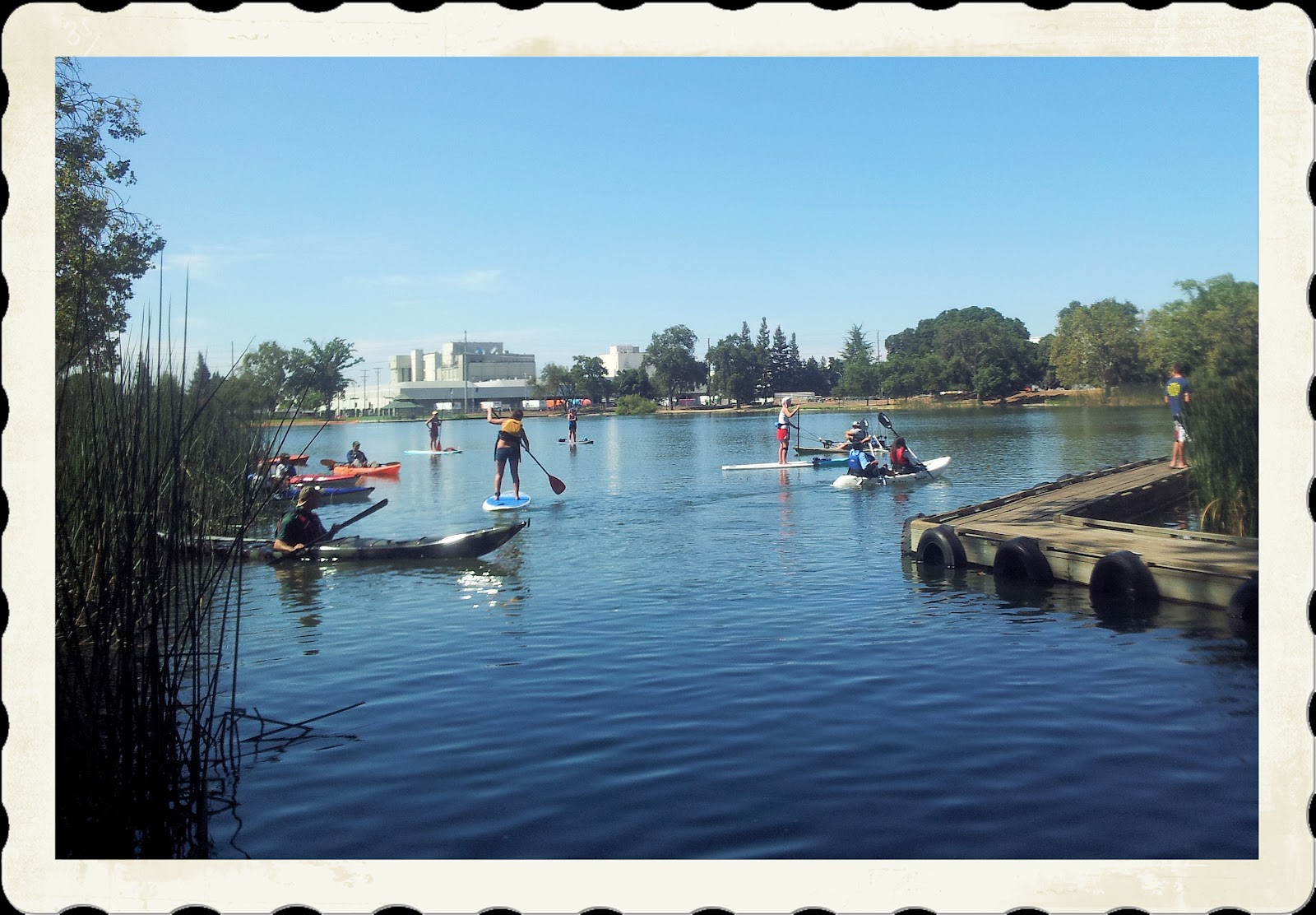 Kayaking the california delta heroes on the water for Lodi lake fishing