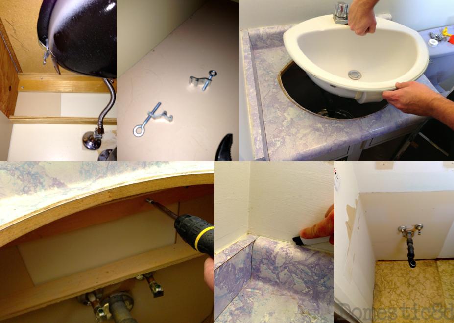 Domestic8d En Suite Reno Part Ii Gutting The Bathroom