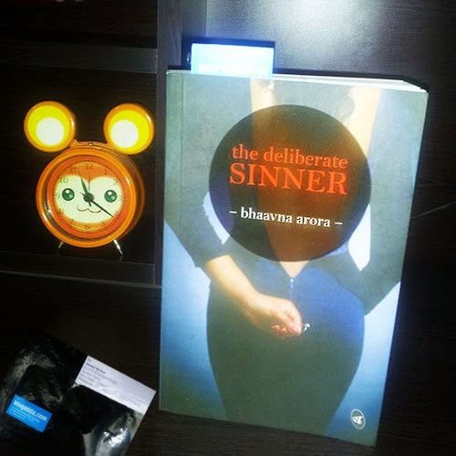 The Deliberate Sinner Review Copy: Day 4 of 100 Happy Days