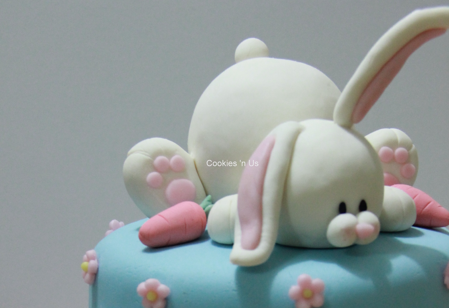 Cookies n Us Bunny 2tier Cake