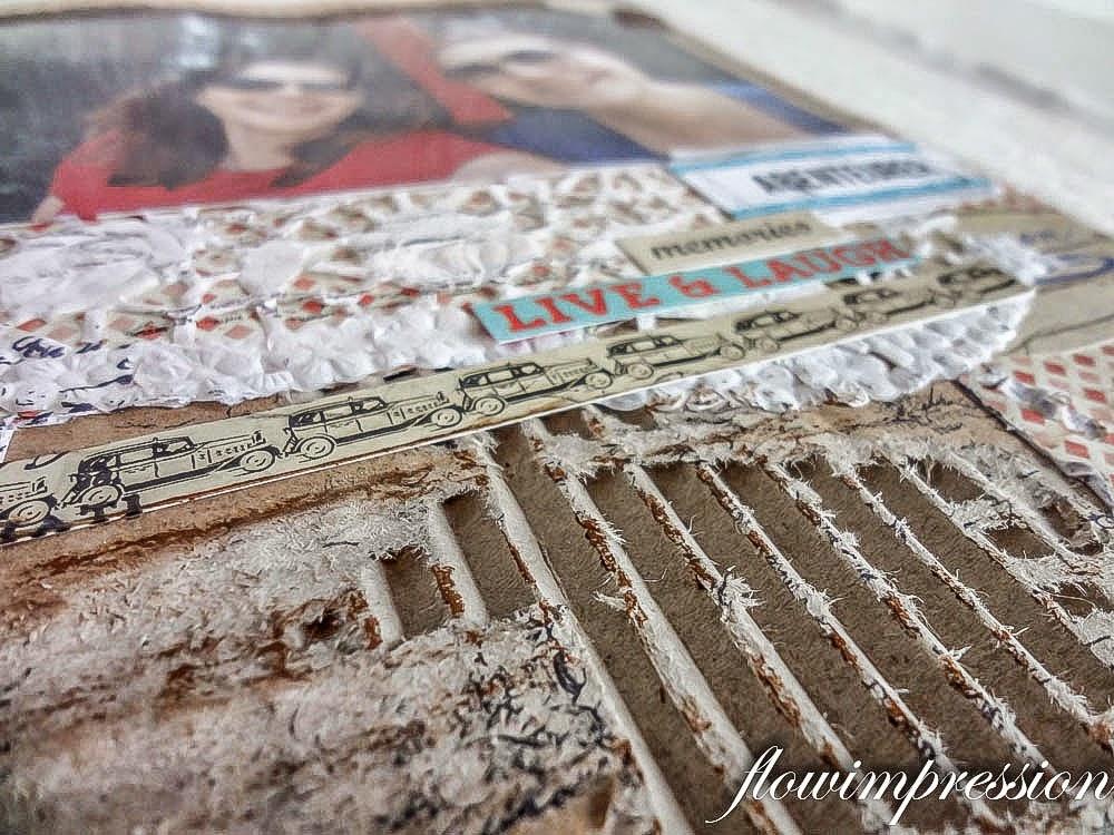 Pappkarton Scrapbook