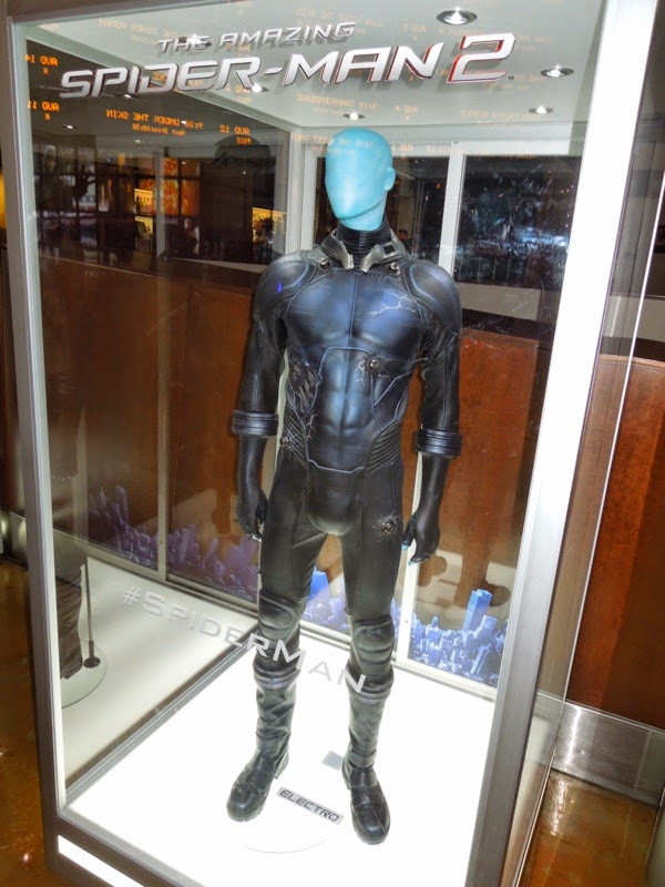 Electro movie costume Amazing Spider-man 2