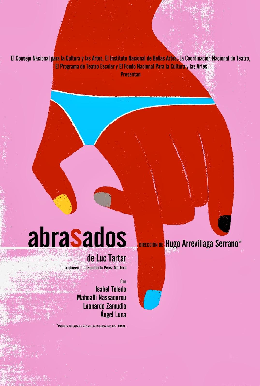 """Estreno de la obra """"Abrasados"""" en el Teatro El Milagro"""