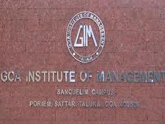 Goa Institute of Management (GIM)