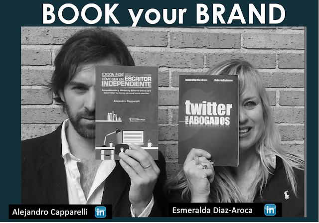 Alejandro Capparelli y Esmeralda Diaz-Aroca, Seminario BOOK your Brand