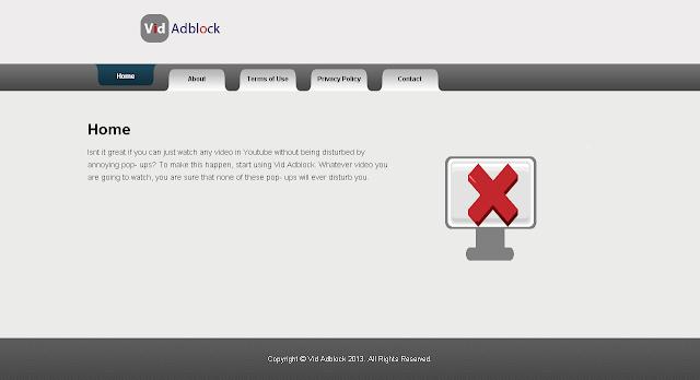 Vid Adblock