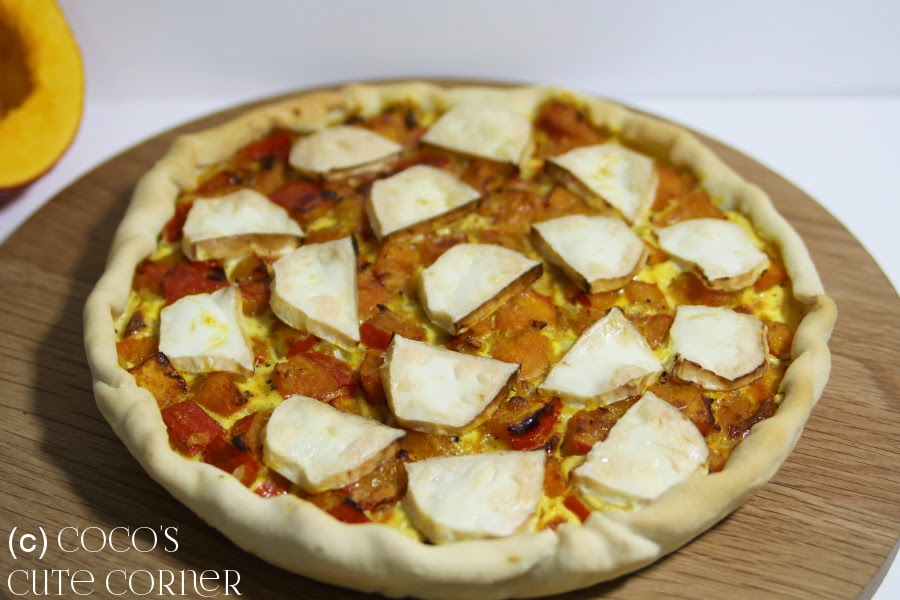 Pumpkin Tarte with Goat Cheese