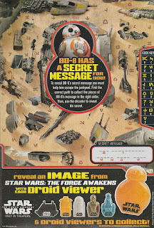 Back of Mini Trix Star Wars The Force Awakens 2015 box