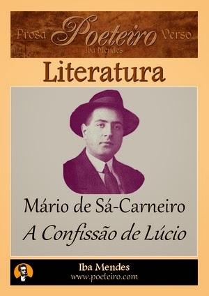 A Confissão de Lúcio, de Mário de Sá-Carneiro