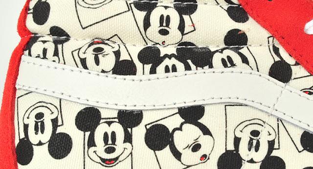 "Disney x Vans Vault Sk8-Hi ""Mickey Mouse"""
