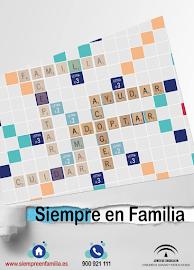 """Campaña """"Siempre en familia: Acoger, Adoptar, Ayudar"""""""