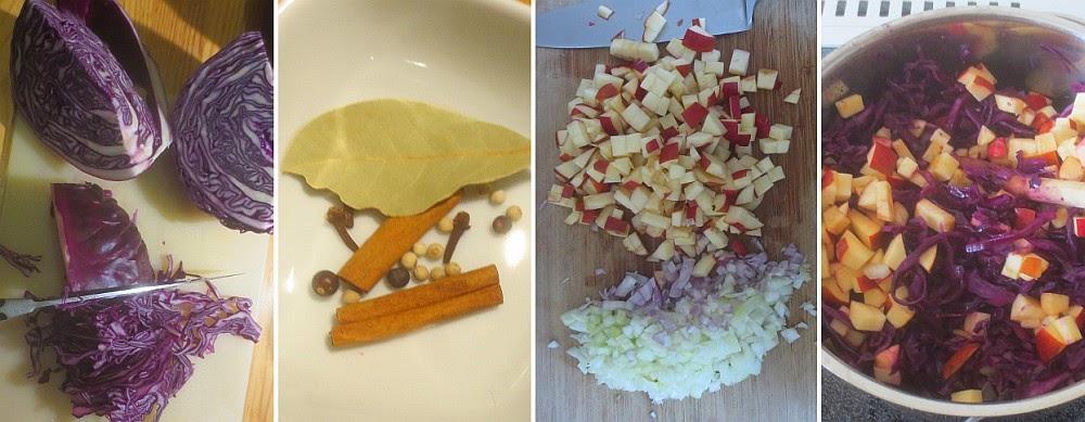 Zubereitung Apfelrotkohl nach Lafer