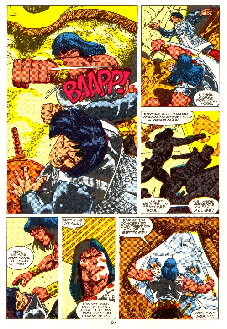Conan the Barbarian (1970) Issue #207 #219 - English 17