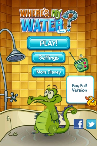 Where's My Water? Free App Game By Disney