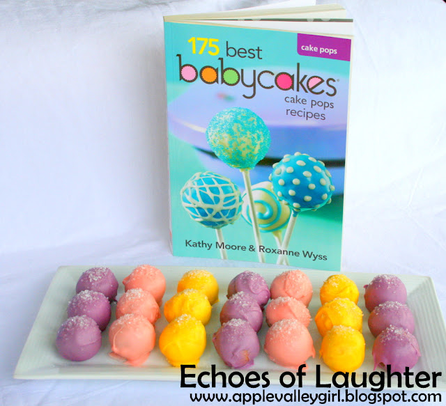 Babycakes Cake Pop Recipe Book