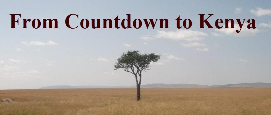 From Countdown to Kenya to ...Chad