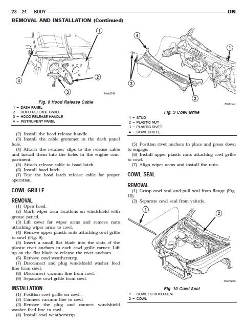 2004 Dodge Durango Engine Diagram Manual Guide