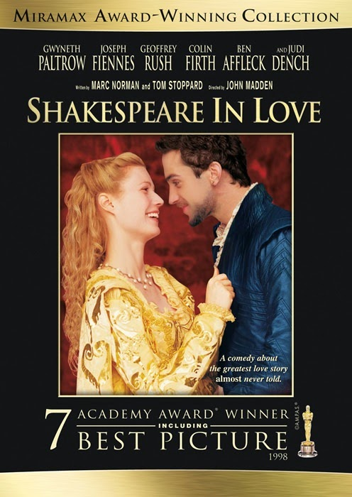 1998 oscar en iyi film odulu shakespeare in love