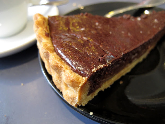 Ten Belles Café - Paris - Tarte chocolat guanaja