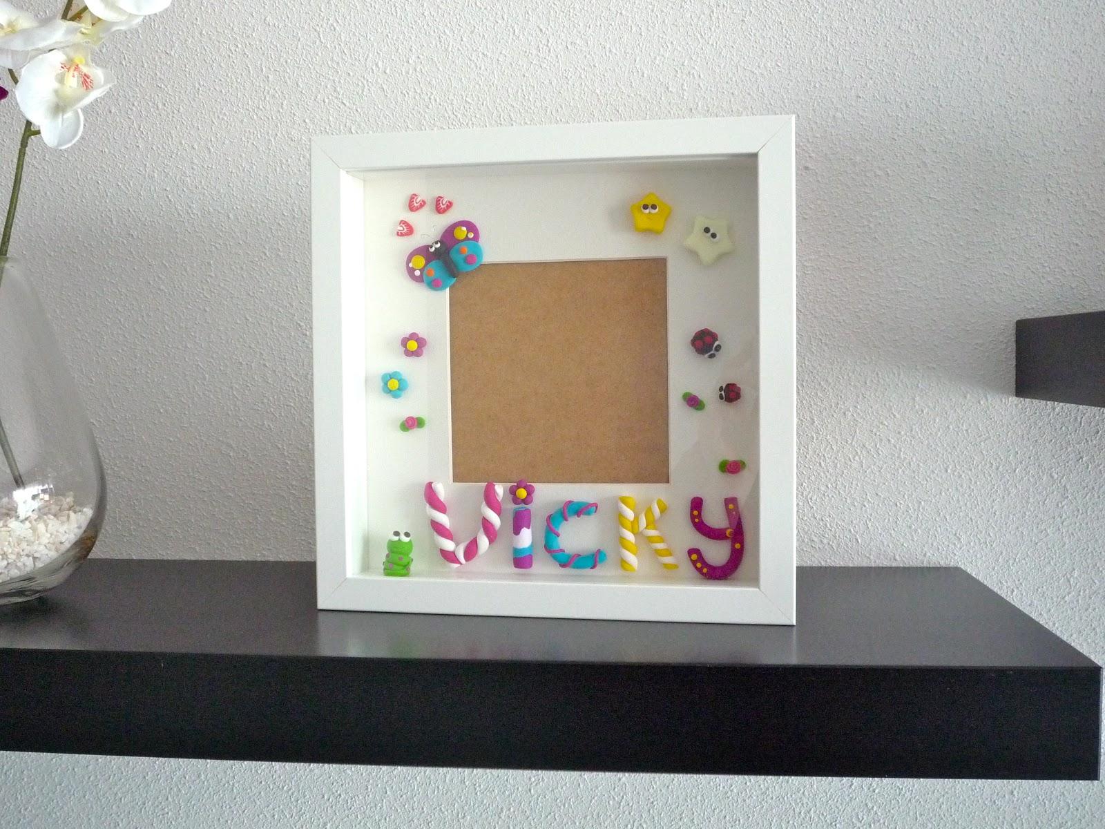 Lda Lera Cuadro decorado para Vicky