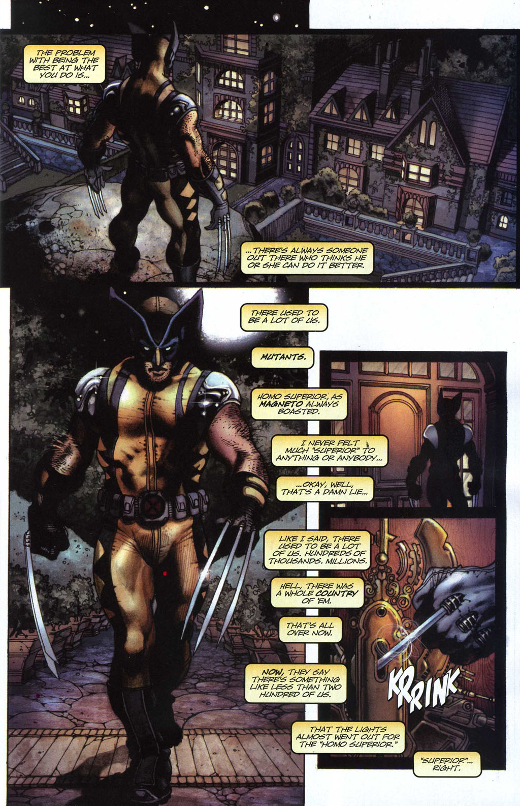 Read online Wolverine (2003) comic -  Issue #50 - 6