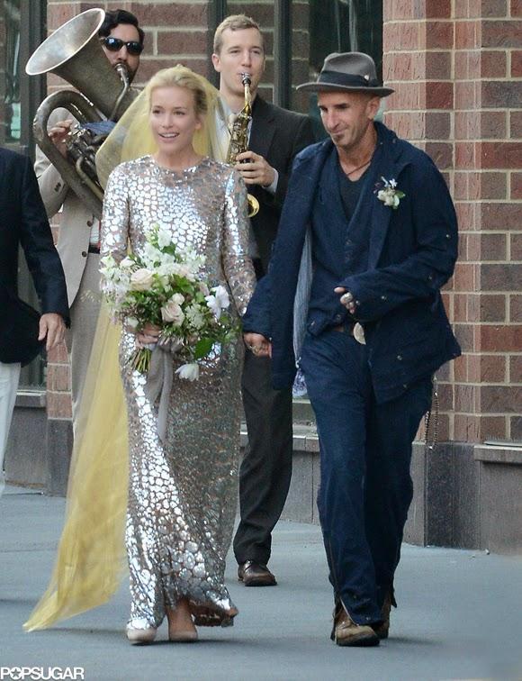Vestido de novia de Piper Perabo