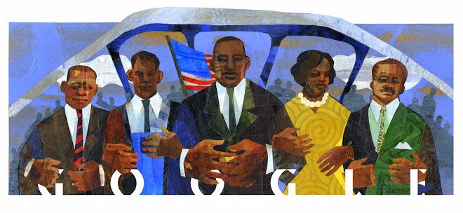 Martin Luther King, Jr. Day 2015 Google Doodle