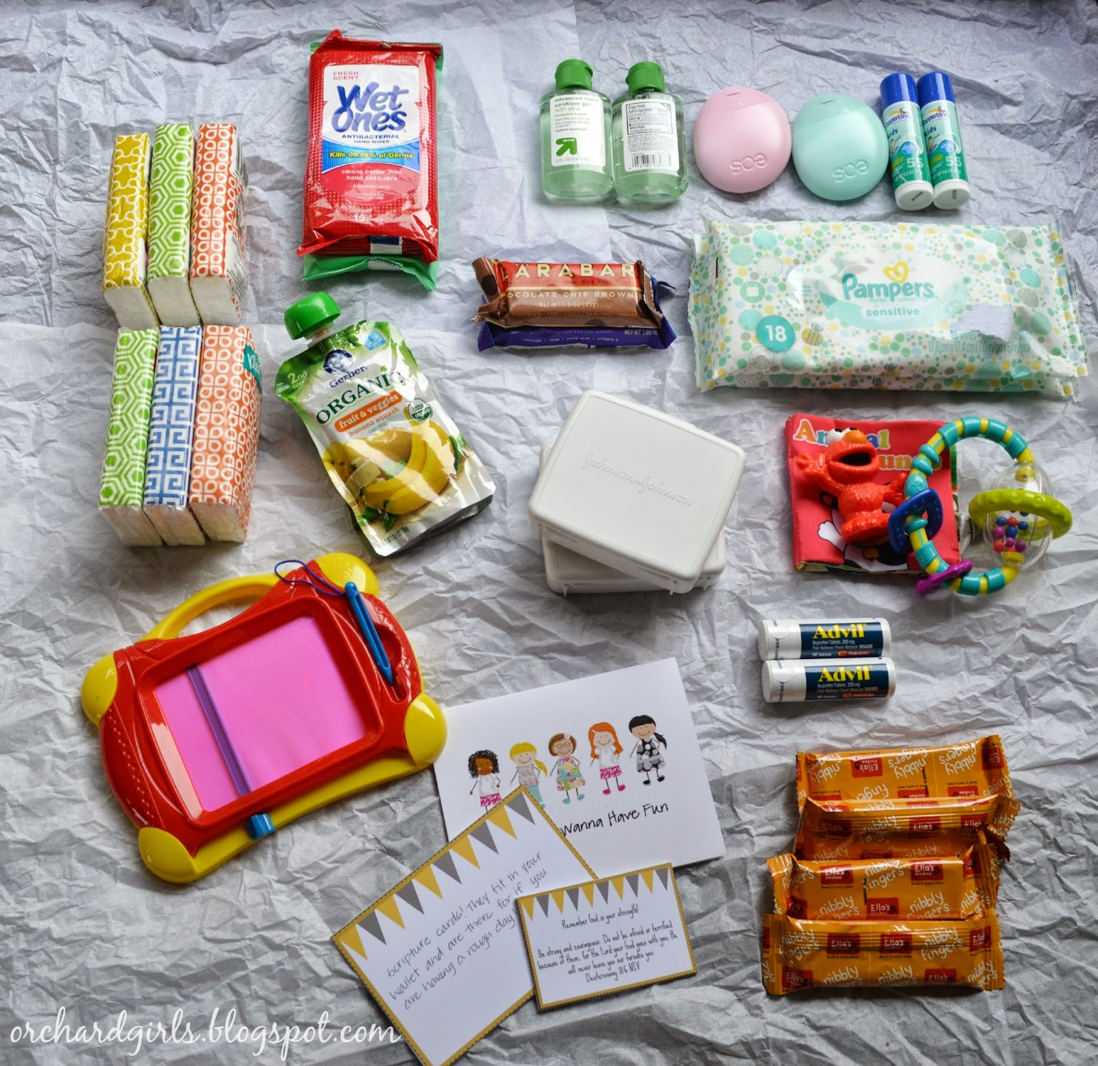 Mommy Swap - On the Go / Must Have Items with Orchard Girls Blog