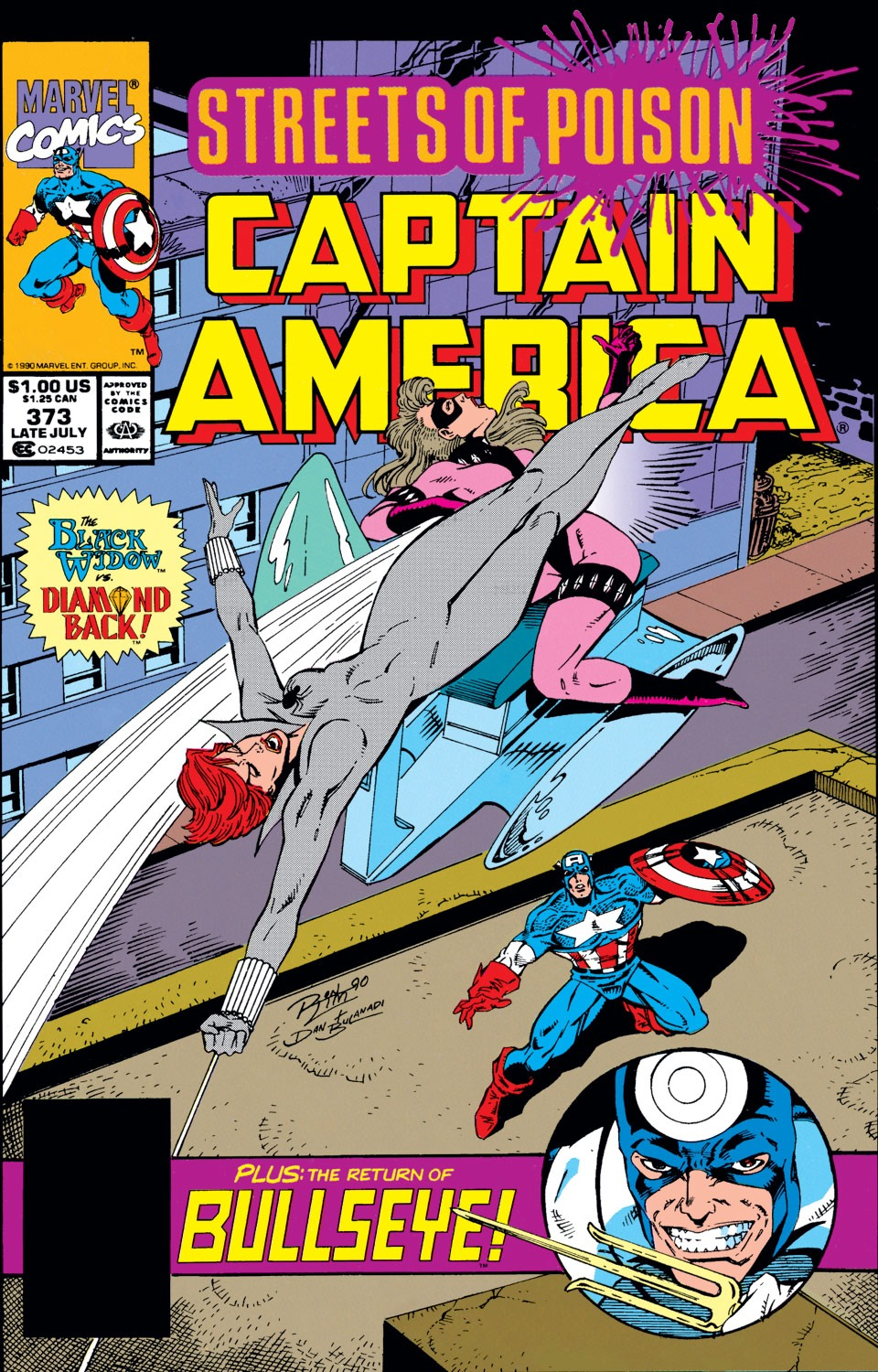 Captain America (1968) Issue #373 #306 - English 1