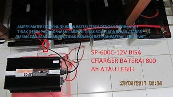 Foto Bukti Pengisian 800Ah / 12V 200ah 4 unit
