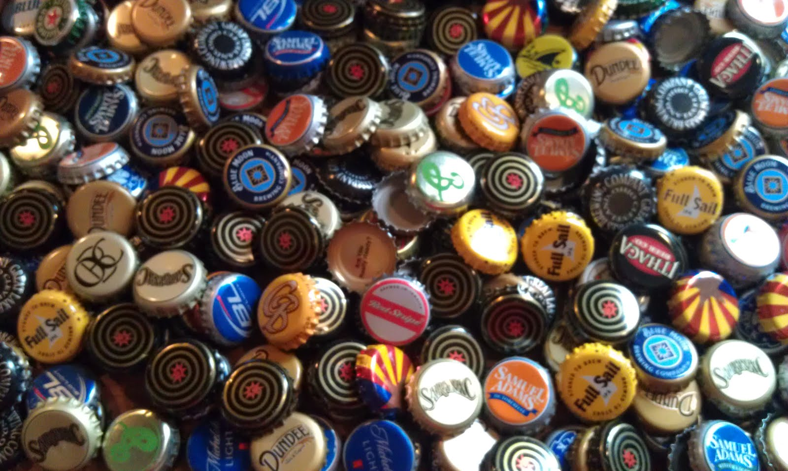 Good things challenged bottle cap coasters for What to make with beer bottle caps