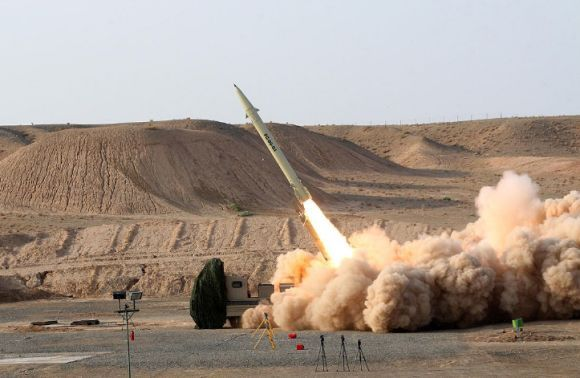 Rudal Fateh-110 Iran