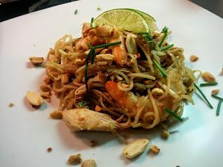 pad thai piatto thailandese a base di noodles di riso