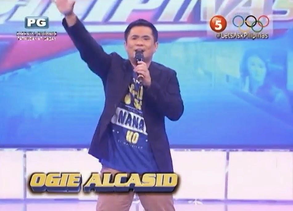 OGIE ALCASID LET'S ASK PILIPINAS 2