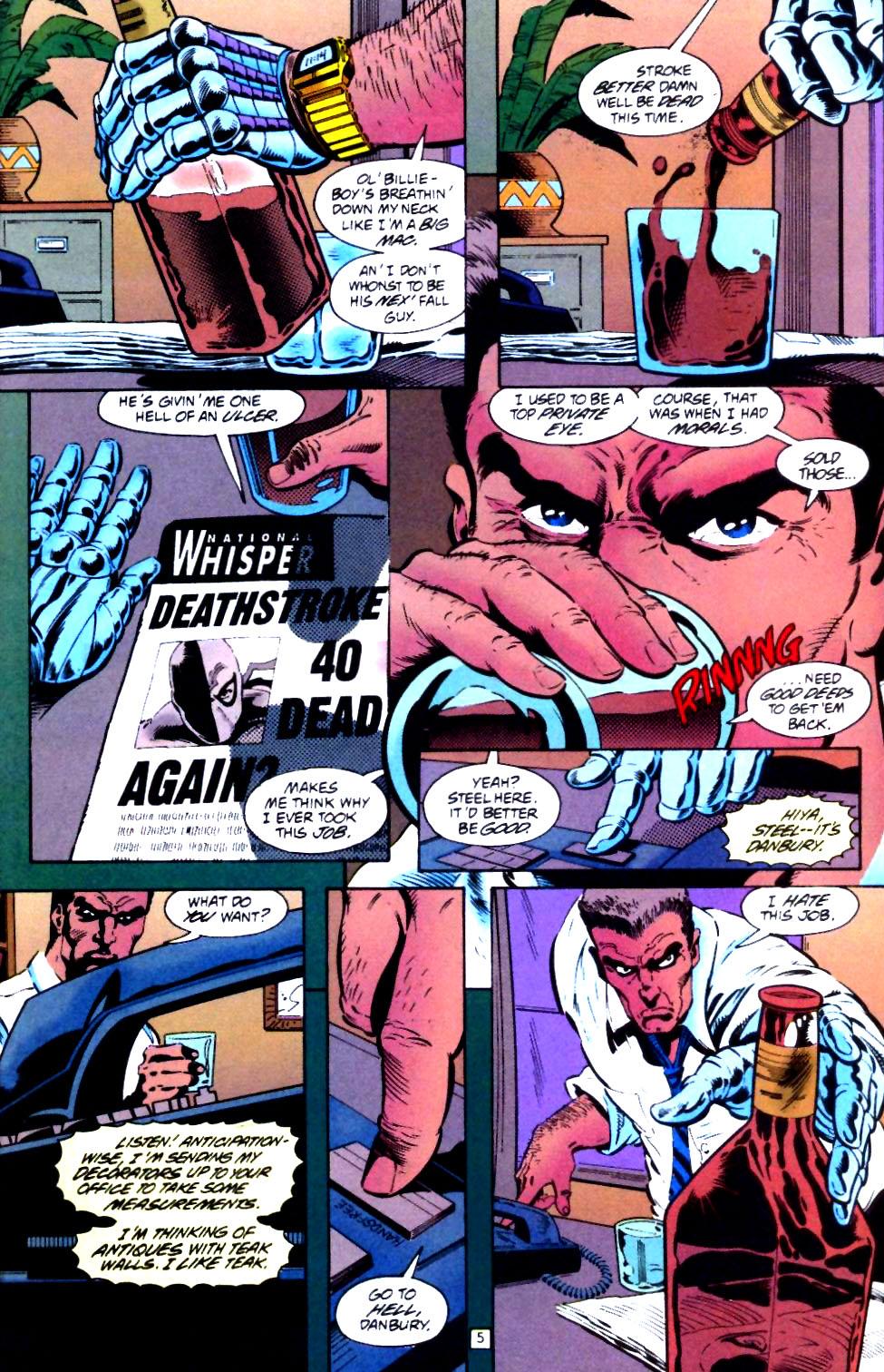 Deathstroke (1991) Issue #44 #49 - English 6