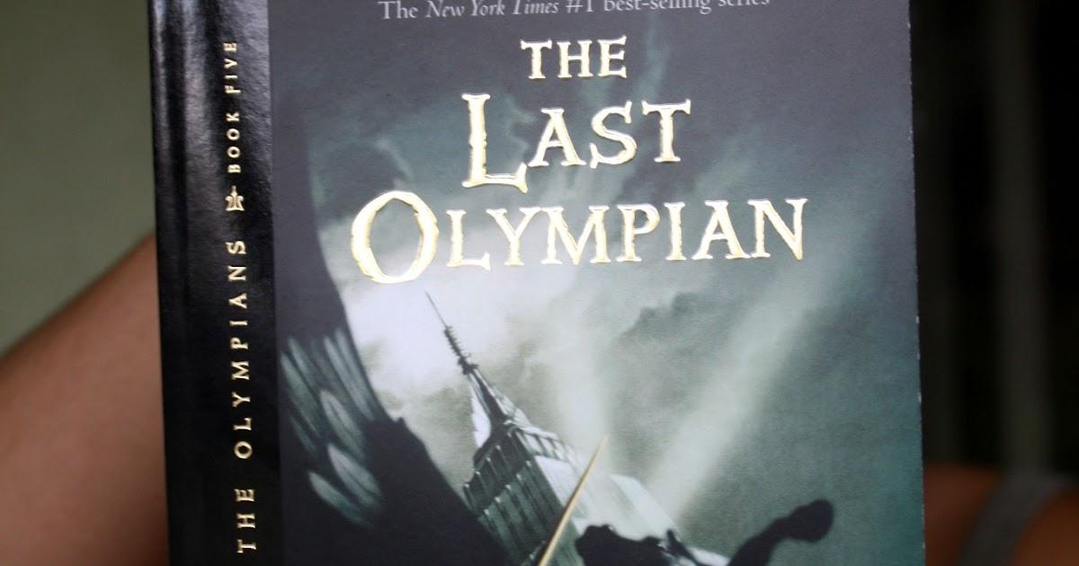 Percy jackson the last olympian