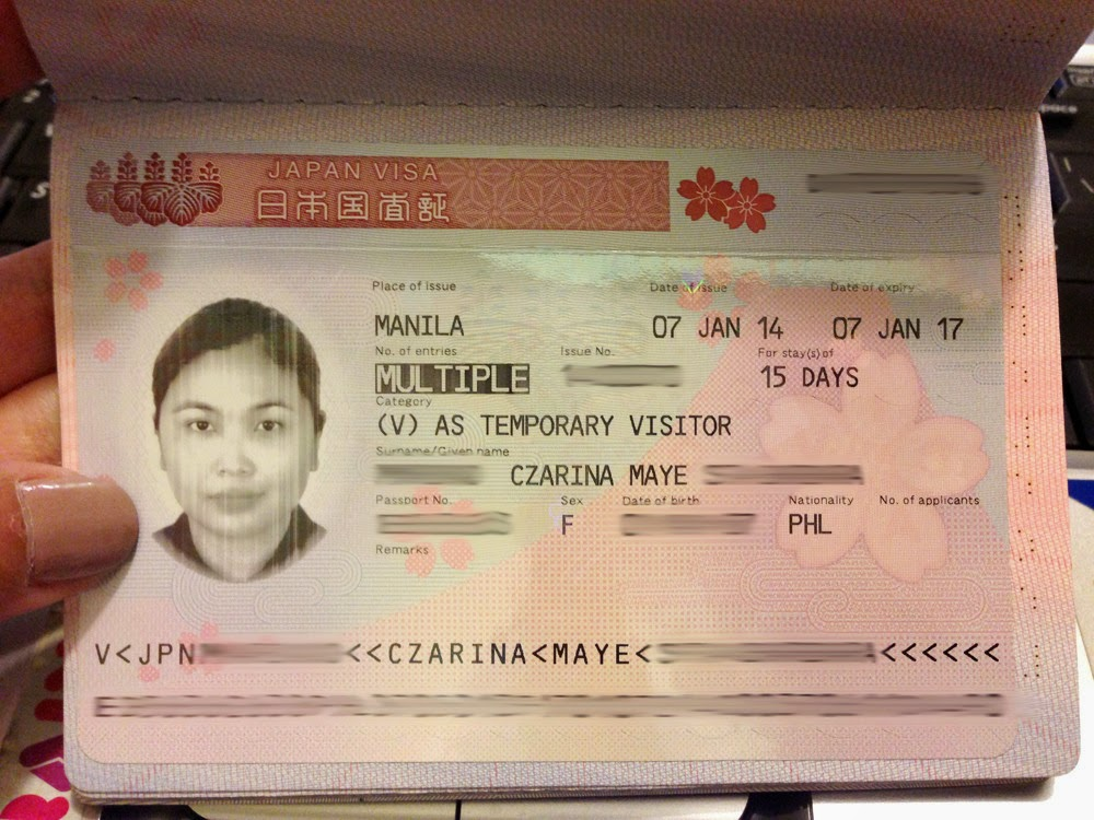 The travel junkie how to apply for multiple entry japan tourist how to apply for multiple entry japan tourist visa for filipinos yadclub Choice Image