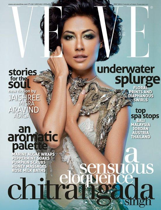 Chitrangada Singh on the cover of Verve