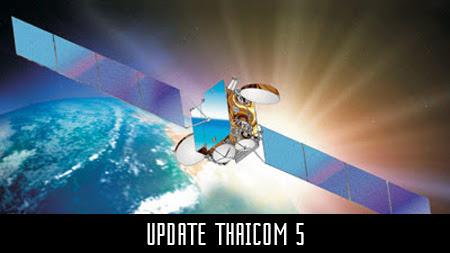 update frekuensi satelit thaicom 5