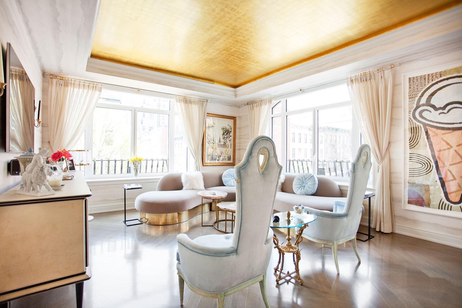 Decor inspiration interior designer sasha bikoff new for Interior design new york style