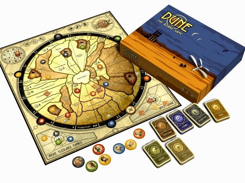Dune juego mesa BoardGameGeek